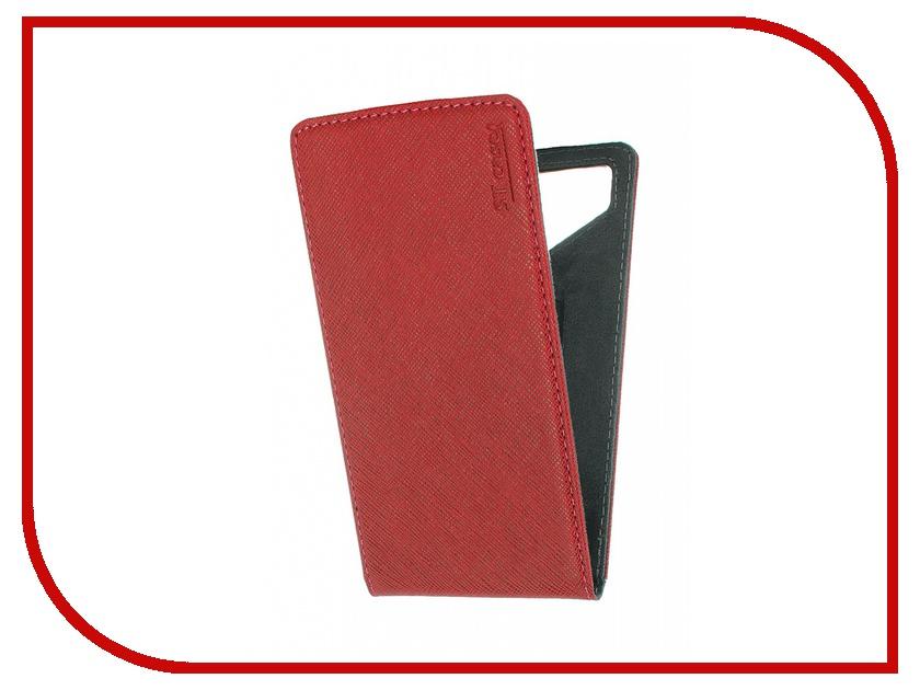 Аксессуар Чехол ST Case 5.5-6 иск.кожа Red ST c –SMFL5.5-6-RED-LTH<br>