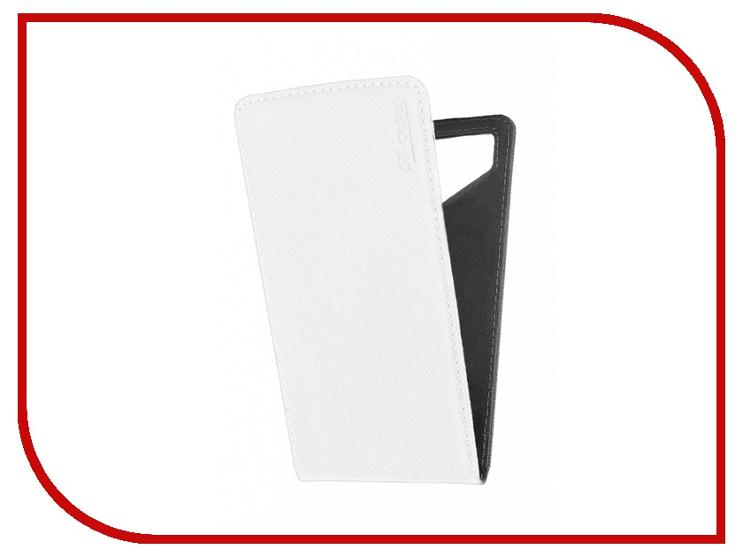 Аксессуар Чехол ST Case 5.5-6 иск.кожа White ST c –SMFL5.5-6-WHT-LTH<br>