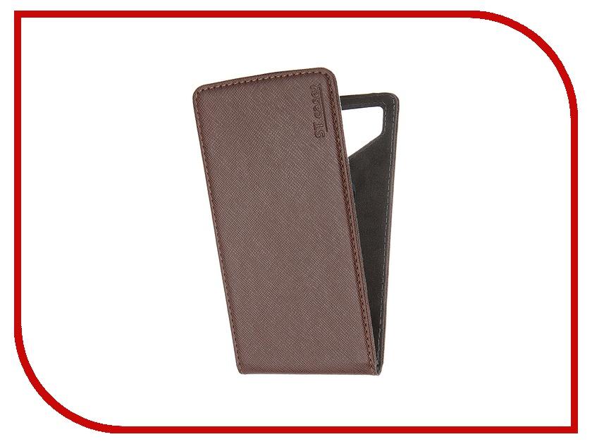 Аксессуар Чехол ST Case 4.6-5 иск.кожа Brown ST c –SMFL4.6-5-BRN-LTH<br>