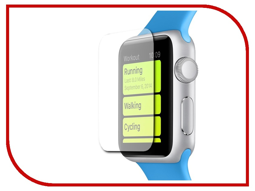 ��������� �������� ������ APPLE Watch 38mm Pulsar Glass Pro+ PGP0004