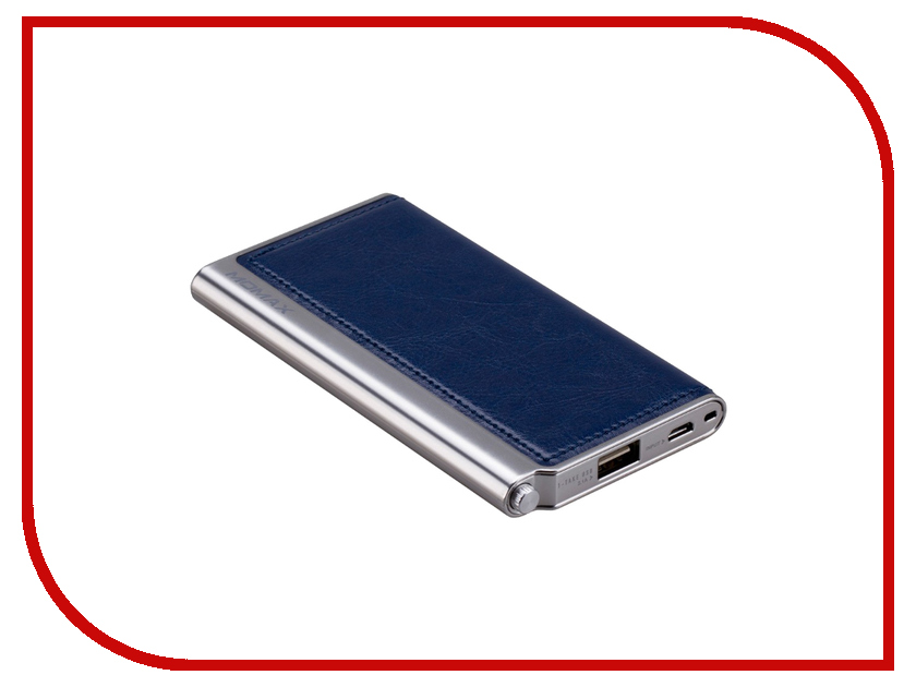 Аккумулятор MOMAX iPower Elite 5000mAh Blue<br>
