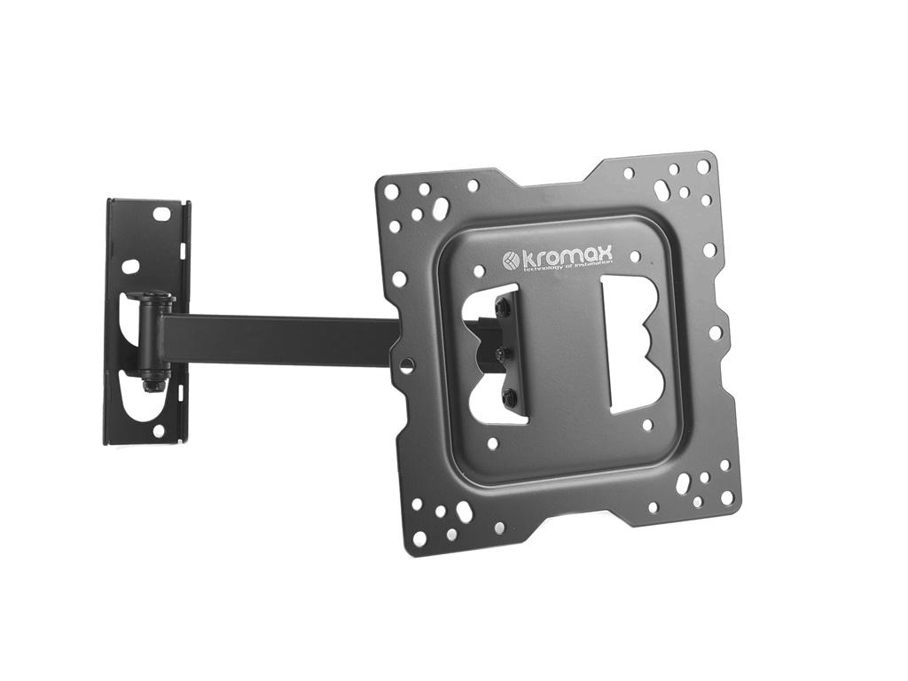 Кронштейн Kromax DIX-17 (до 30кг) Black printio otto dix