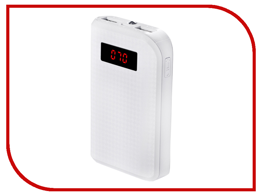 Аккумулятор Remax Power Bank Proda Power Box 10000 mAh White<br>