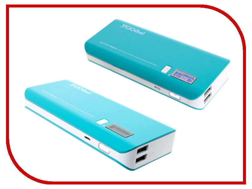 Аккумулятор Remax V10i Proda Jane Series Power Bank 20000mAh Mint-White аккумулятор remax power bank proda power box 20000mah black