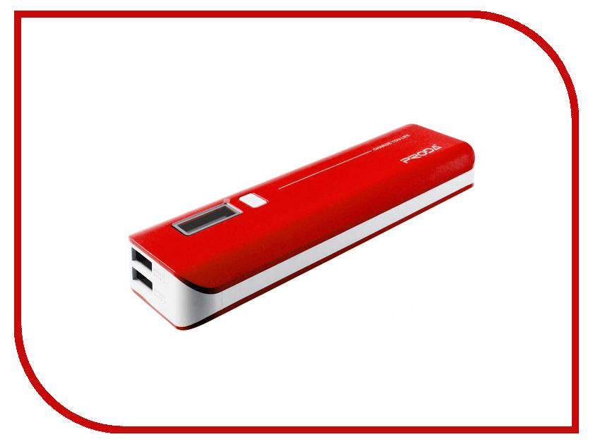 Аккумулятор Remax Power Bank V6i Proda Jane Series 10000 mAh Red<br>