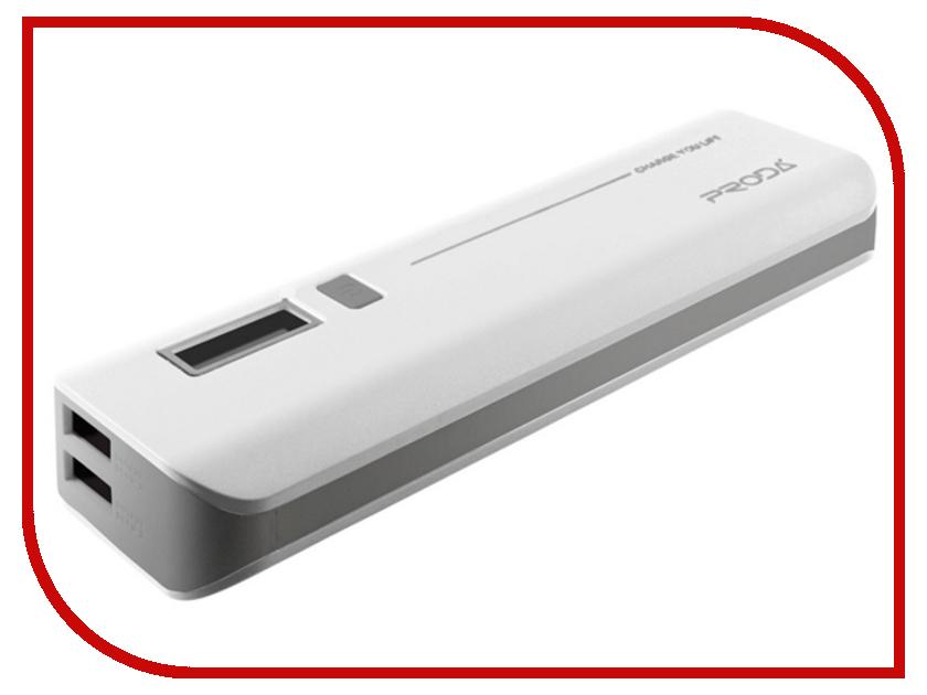 Аккумулятор Remax Power Bank V6i Proda Jane Series 10000 mAh White<br>
