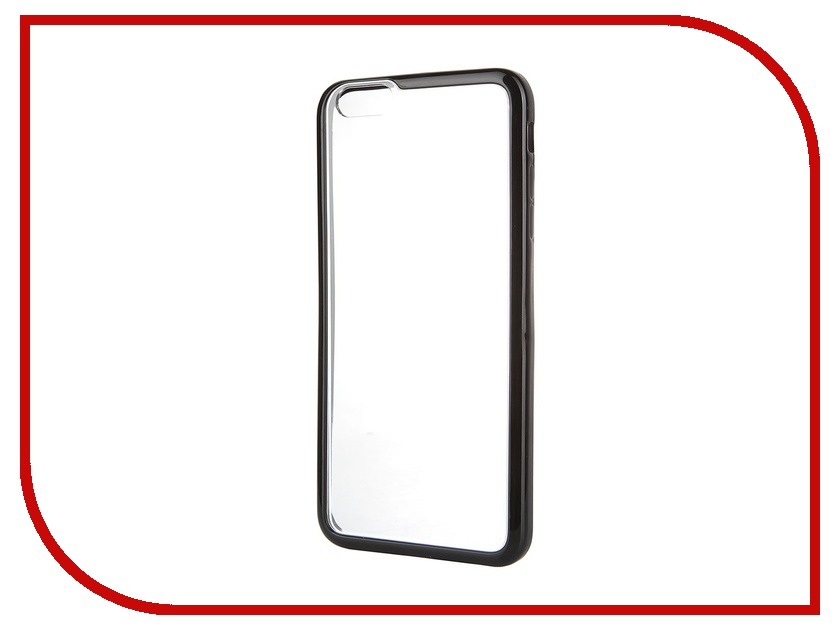 Аксессуар Чехол iPhone 6 Plus Muvit MyFrame Case Black MUBMC0101<br>