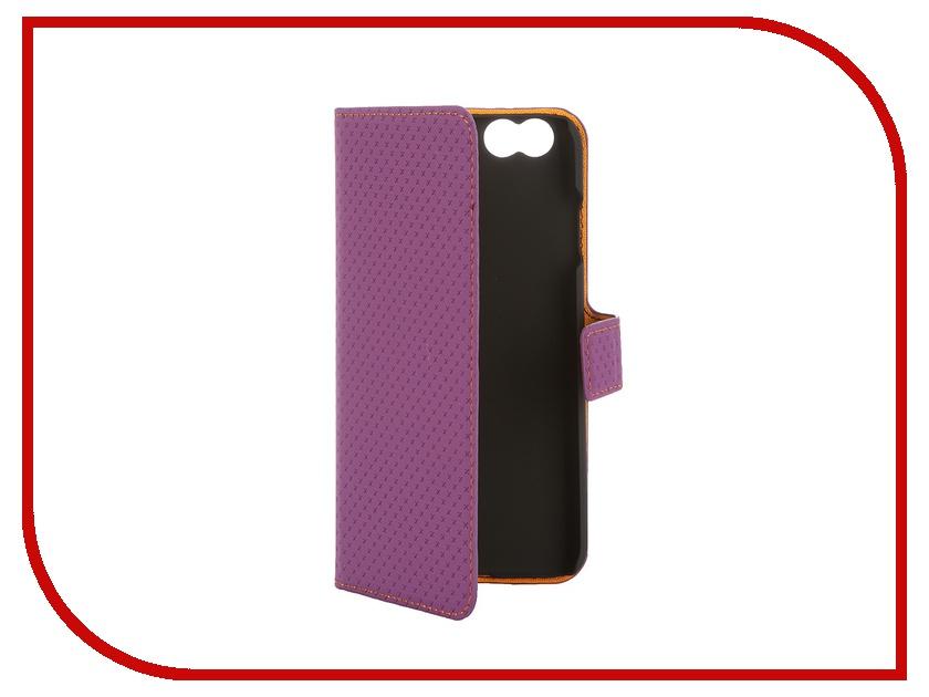 Аксессуар Чехол-книжка Muvit Wallet Folio Stand Case для iPhone 6 Violet MUSNS0051<br>