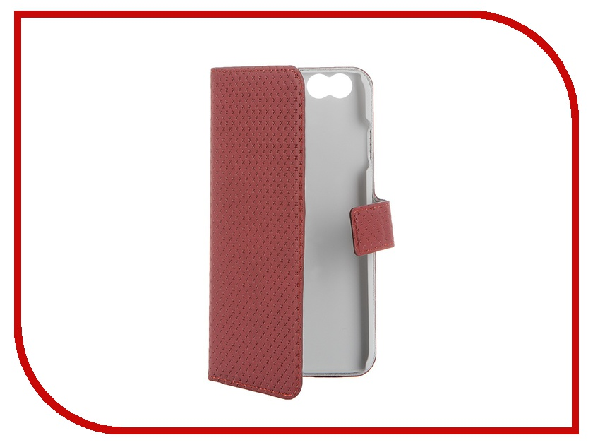 Аксессуар Чехол-книжка Muvit Wallet Folio Stand Case для iPhone 6 Red MUSNS0070 muvit muvit smooth slim folio для iphone 6 plus 6s plus