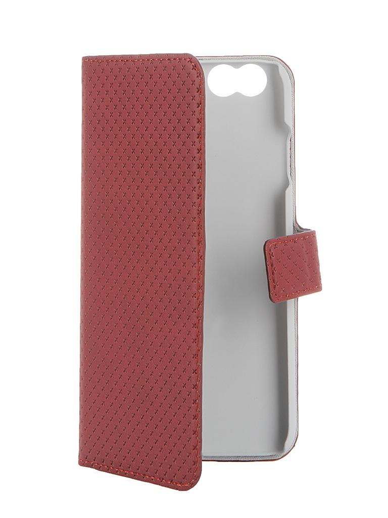 Аксессуар Чехол-книжка Muvit Wallet Folio Stand Case для iPhone 6 Red MUSNS0070<br>
