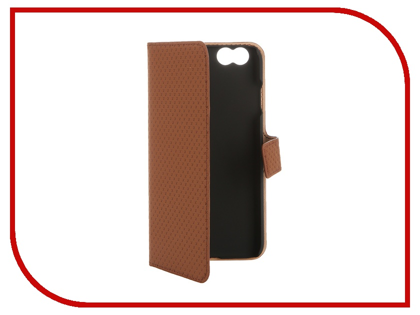 Аксессуар Чехол-книжка Muvit Wallet Folio Stand Case для iPhone 6 Brown MUSNS0072 muvit muvit smooth slim folio для iphone 6 plus 6s plus