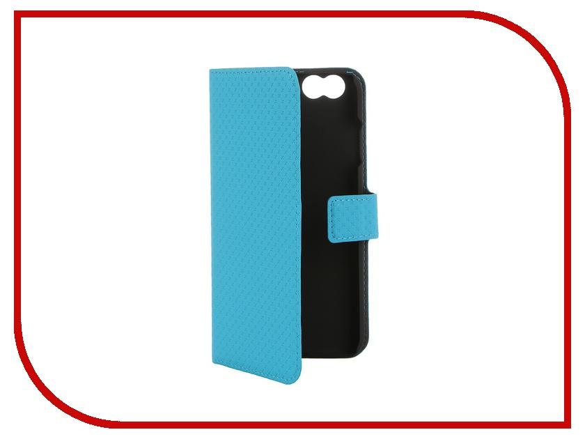 Аксессуар Чехол-книжка Muvit Wallet Folio Stand Case для iPhone 6 Blue MUSNS0050<br>