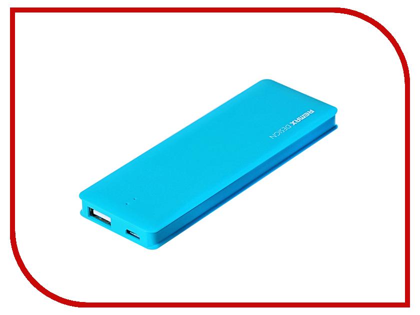 Аккумулятор Remax Power Bank Candy bar 5000 mAh Blue<br>