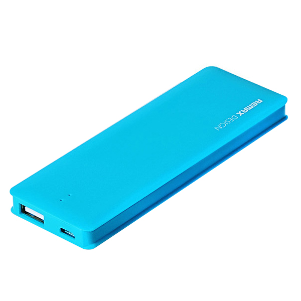 Аккумулятор Remax Power Bank Candy bar 5000 mAh Blue