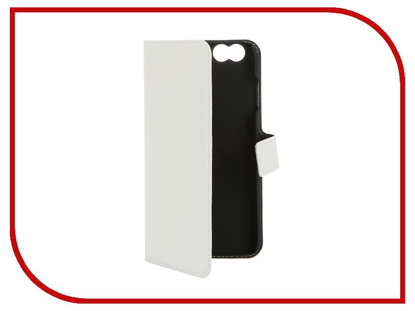 Аксессуар Чехол-книжка Muvit Wallet Folio Stand Case для iPhone 6 White MUSNS0071 muvit muvit smooth slim folio для iphone 6 plus 6s plus