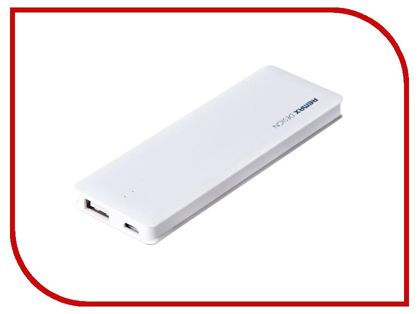 Аккумулятор Remax Power Bank Candy bar 5000 mAh White