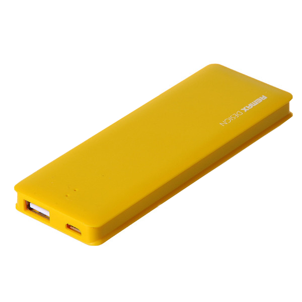 Аккумулятор Remax Power Bank Candy bar 5000 mAh Yellow