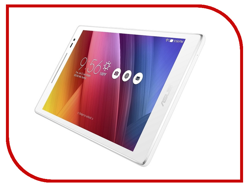 Планшет ASUS ZenPad 8 Z380KL-1B014A White 90NP0242-M00430 (Qualcomm Snapdragon MSM8916 1.2 Ghz/1024MB/16Gb/Wi-Fi/Bluetooth/LTE/Cam/8.0/1280x800/Android)