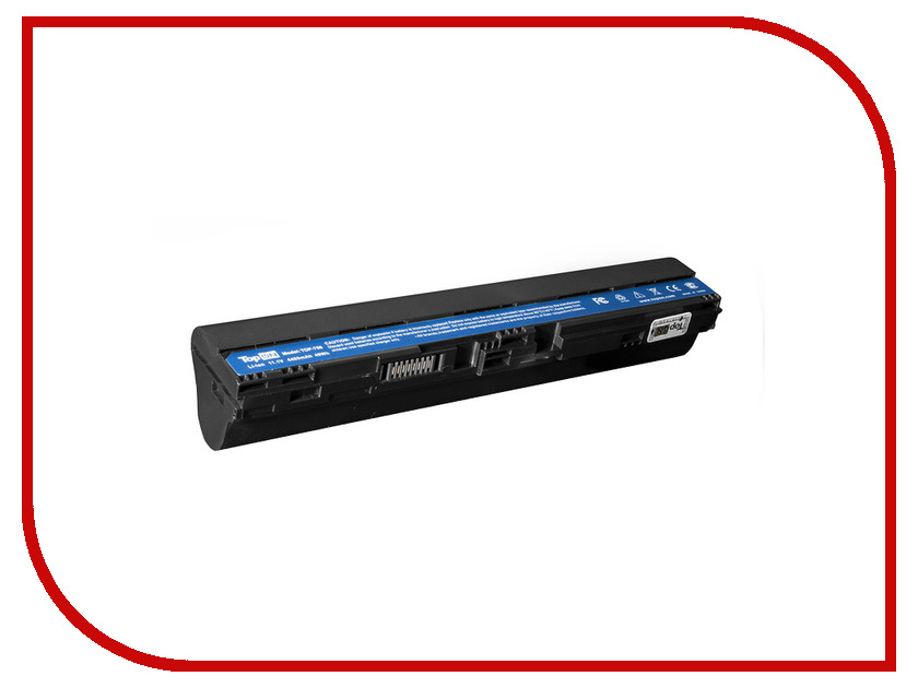 Аккумулятор TopON TOP-756 11.1V 4400mAh for Acer Aspire One 725/756/V5-131/V5-171/TravelMate B113 Series