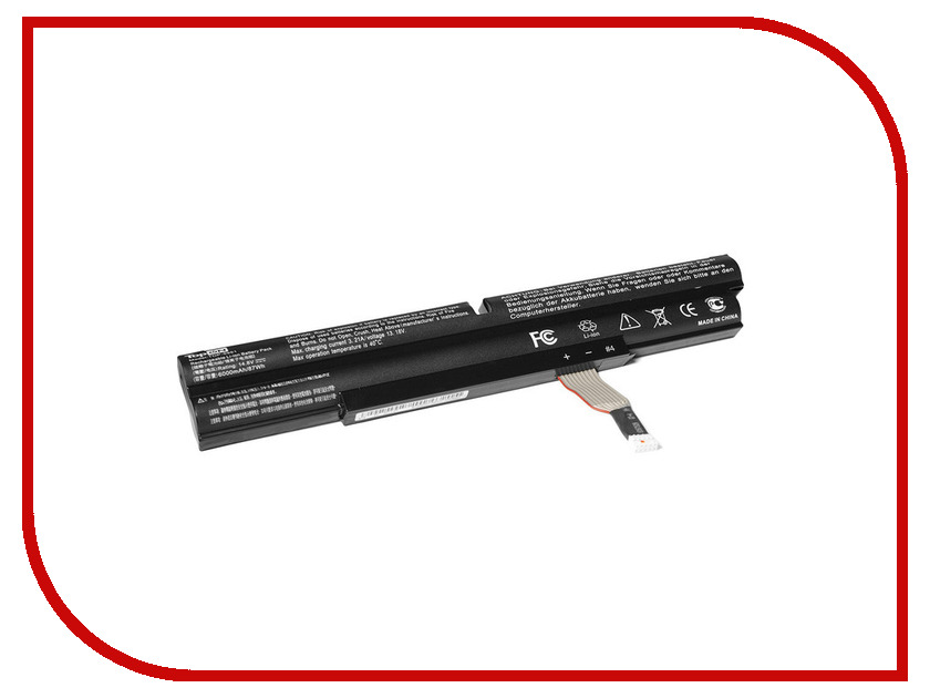 Аккумулятор TopON TOP-AC5951 10.8V 6000mAh for Acer Aspire 5951/5951G/5943G/8943/8950/8951G Series<br>