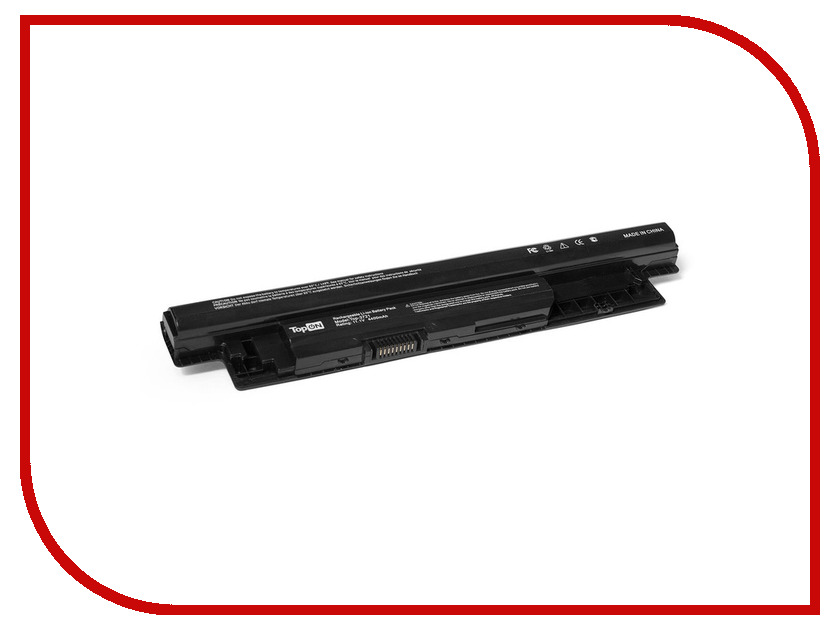 Аккумулятор TopON TOP-3721 11.1V 4400mAh for Dell Inspiron 3521/3721/Latitude 3440/Vostro 2421 Series<br>