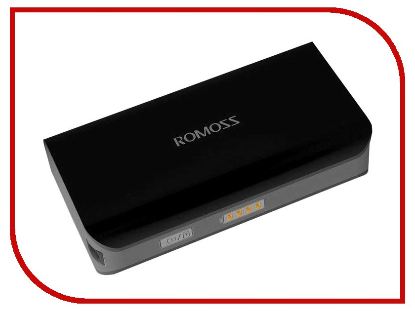 Аккумулятор ROMOSS Powerbank Sailing 2 5200 mAh Black<br>