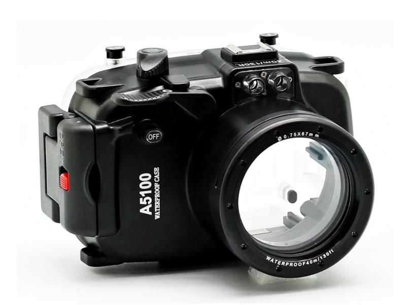 Аквабокс Meikon A5100 для Sony Alpha A5100 Kit 16-50 mm
