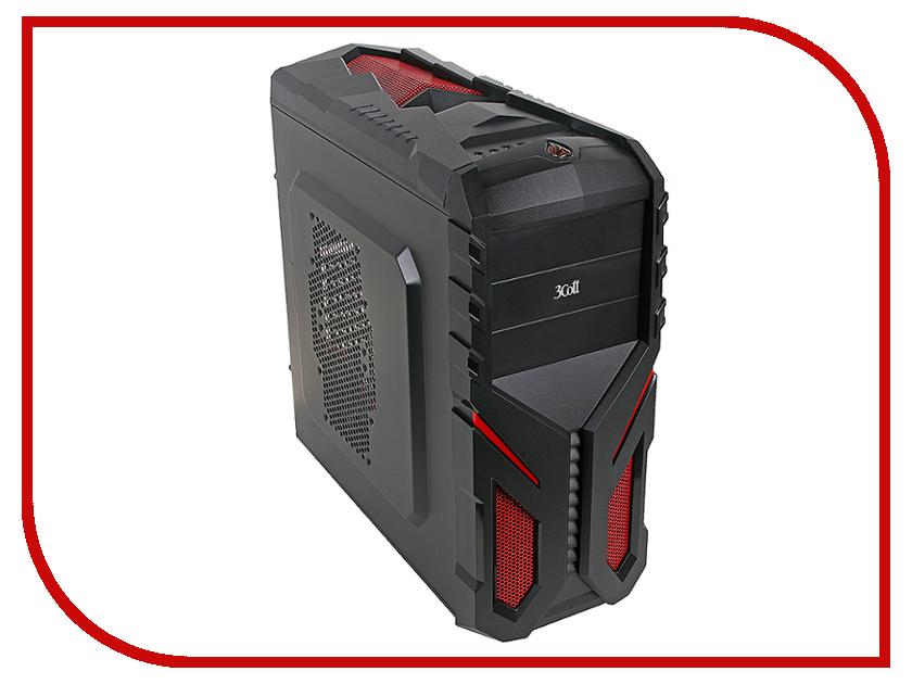 Корпус 3Cott Shogun 3C-ATX136G корпус системного блока 3cott 3c atx901gbl avalanche 3c atx901gbl