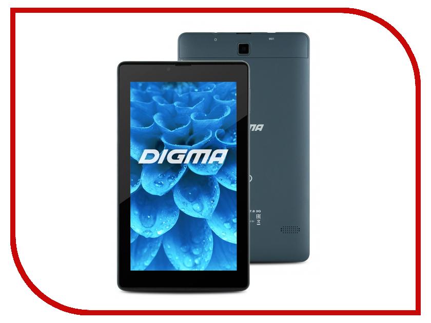 Планшет Digma Plane 7.8 3G PS7008EG Intel Atom x3-C3130 1.0 GHz/512Mb/4Gb/Wi-Fi/3G/Bluetooth/GPS/Cam/7.0/1024x600/Android 297039