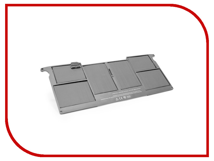 Аккумулятор TopOn TOP-AP1370 4680mAh Black for MacBook Air 11<br>
