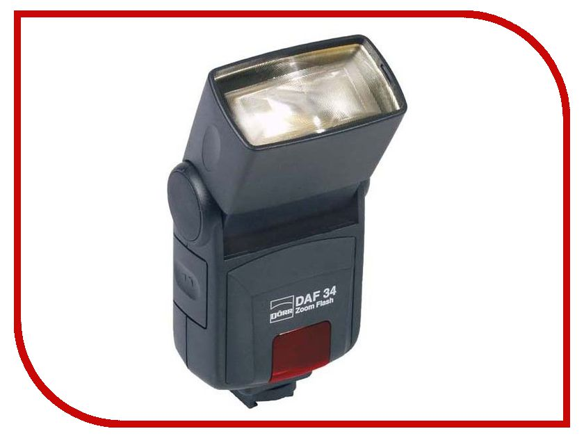 Вспышка Doerr D-AF-34 Zoom Flash Nikon (D370908) yn 622n nikon flash trigger set