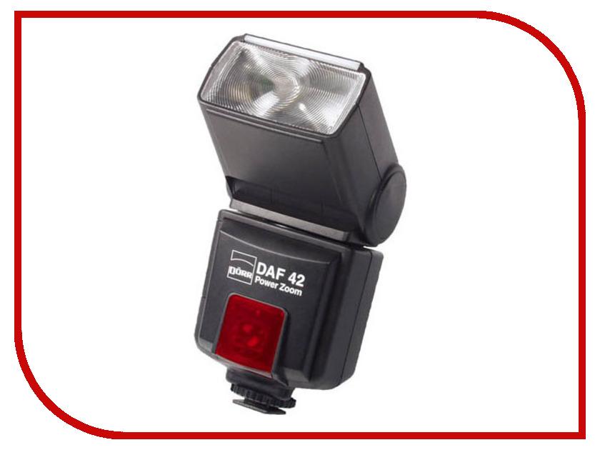 Вспышка Doerr D-AF-42 Power Zoom Flash Olympus / Panasonic (D371006)<br>