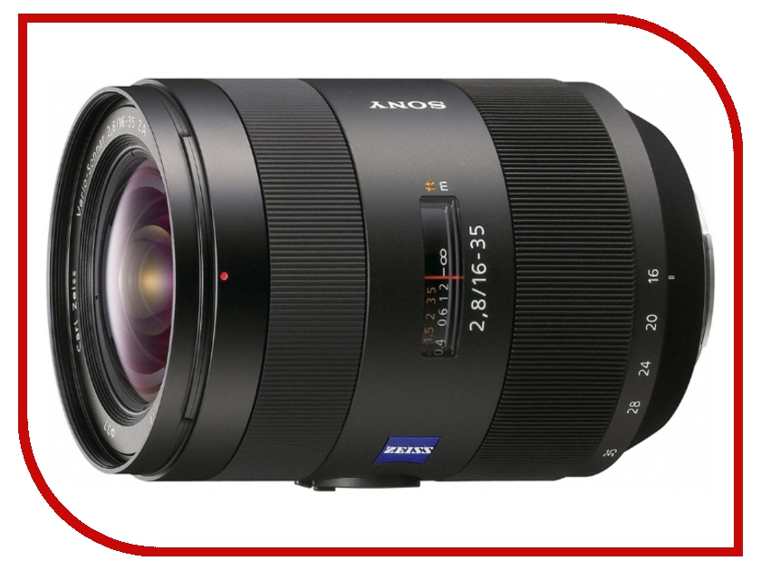 Объектив Sony Carl Zeiss Vario-Sonnar T*16-35mm f/2.8 ZA SSM (SAL-1635Z) carl zeiss touit 1 8 32