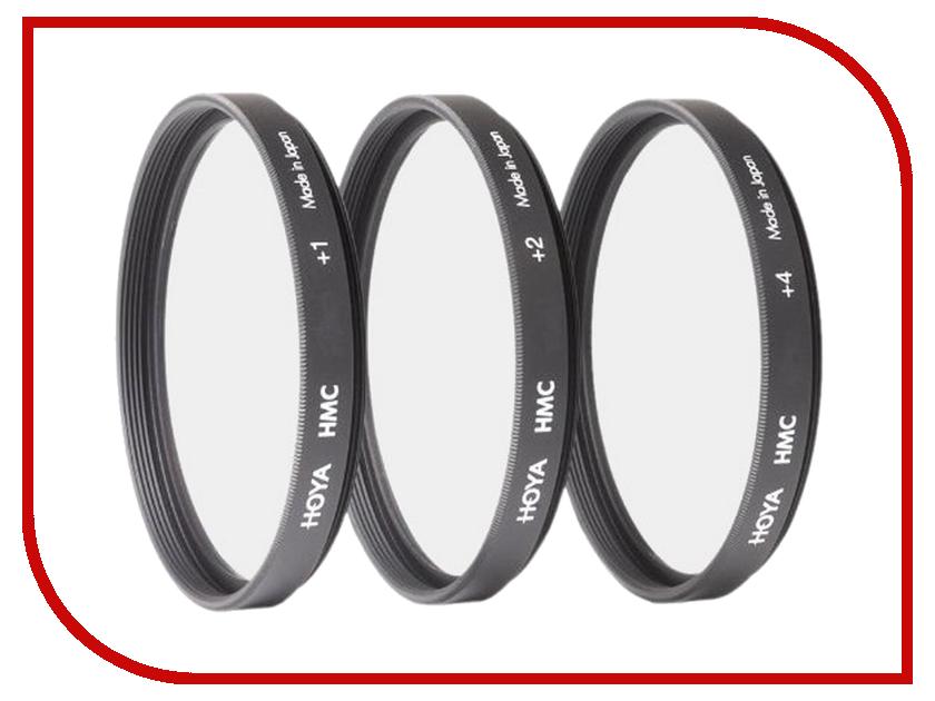 Светофильтр HOYA HMC Close UP Set +1, 2, 4 - 67mm - набор макролинз 76734<br>