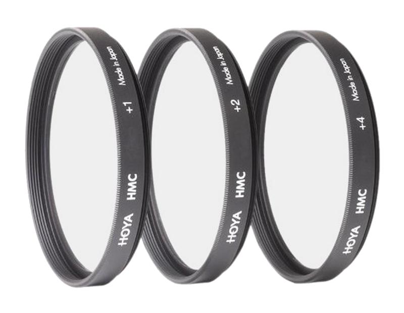 Светофильтр HOYA HMC Close UP Set +1, 2, 4 - 55mm - набор макролинз 76731<br>
