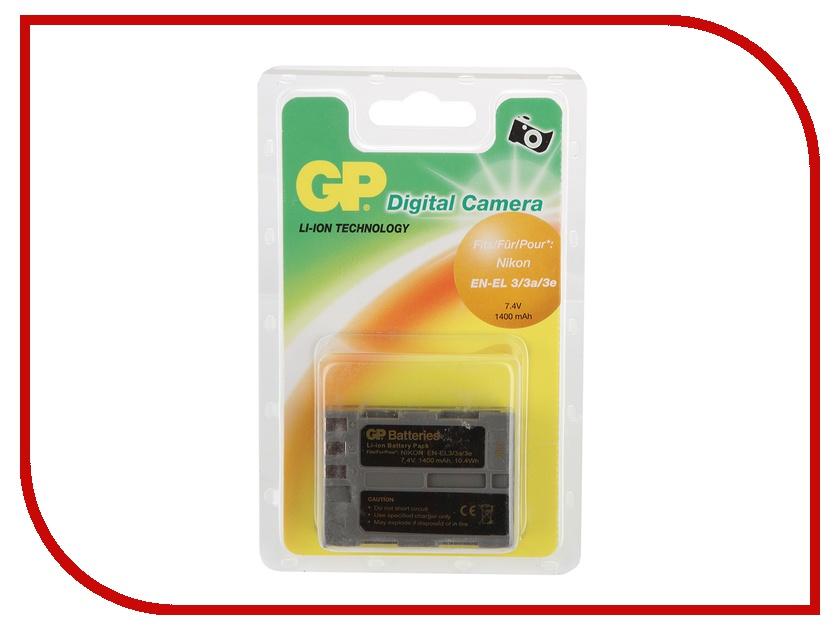 Аккумулятор GP EN-EL3e DNK003<br>