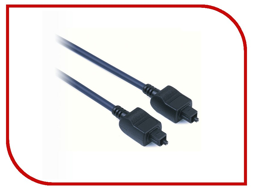 Аксессуар Hama Audio Optical Fibre Connecting Cable ODT Male Plug (Toslink) H-42927
