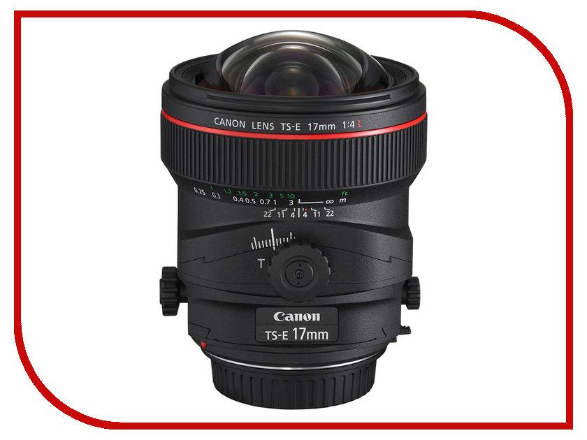 Объектив Canon TS-E 17mm f/4L<br>