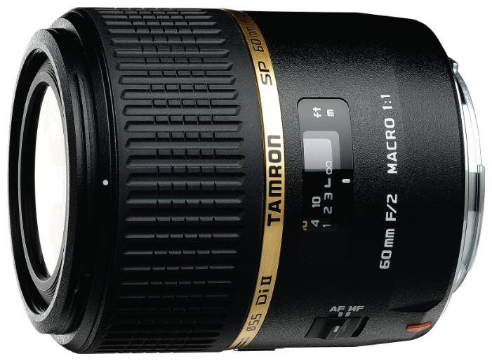 лучшая цена Объектив Tamron Canon SP AF 60 mm F/2.0 Di II LD Macro 1:1