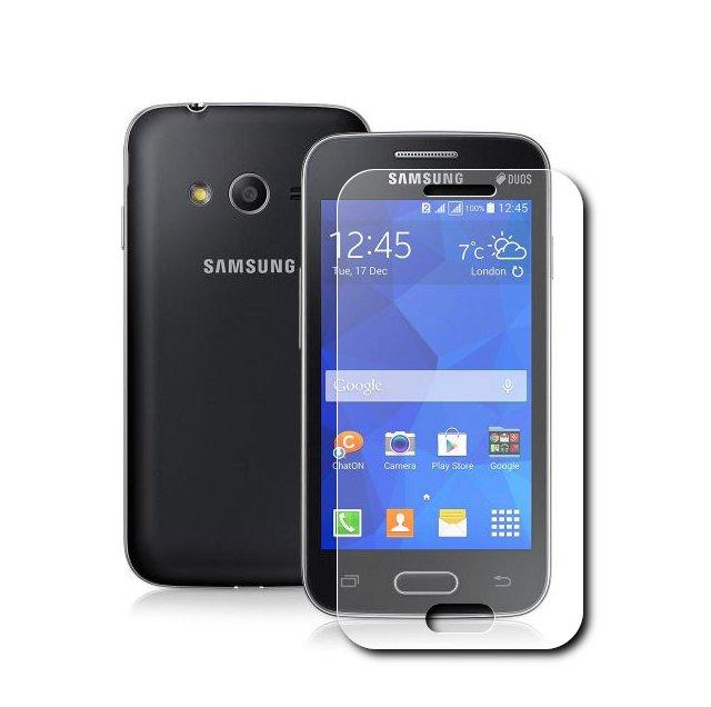 Аксессуар Закаленное стекло Samsung G313 Galaxy Ace 4 DF sSteel-31