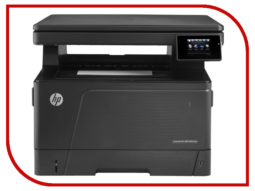 МФУ HP LaserJet Pro M435nw A3E42A принтер hewlett packard hp color laserjet cp5225 a3 ce710a