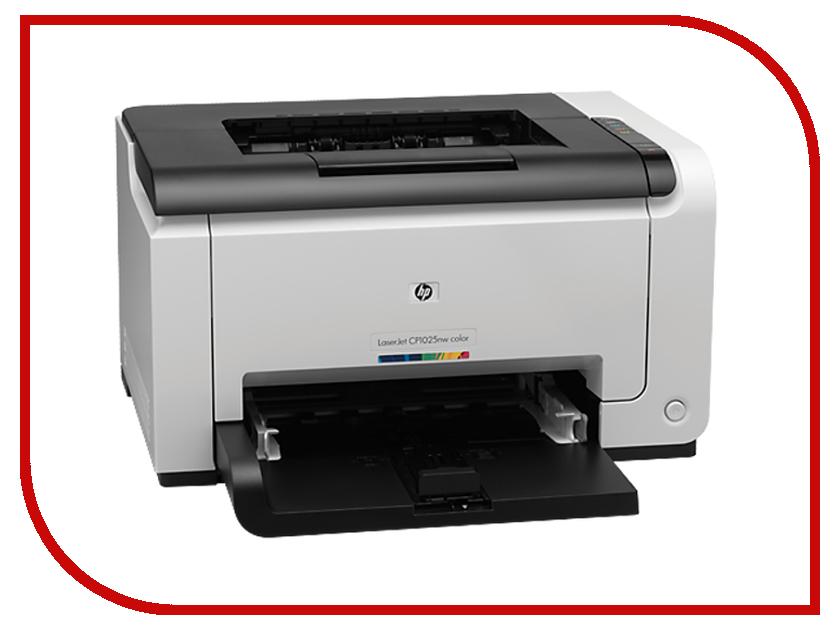 Принтер HP Color LaserJet Pro CP1025nw CE918A