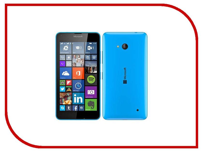 Сотовый телефон Microsoft 640 Lumia LTE Cyan<br>