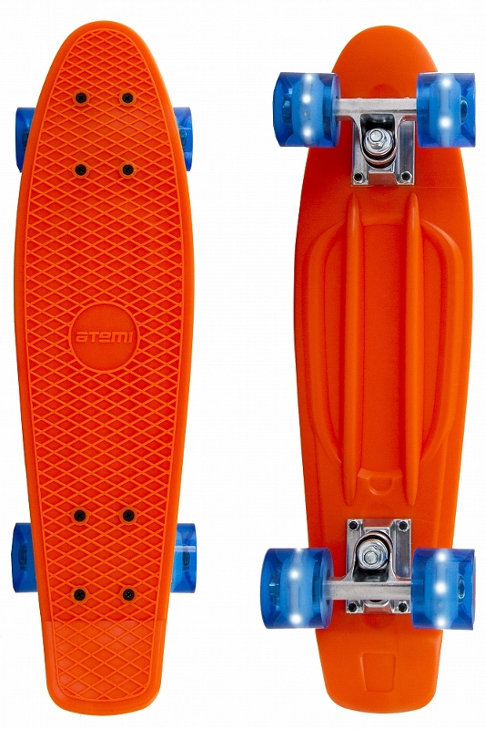 Скейт Atemi Penny Board APB-3.15 Orange