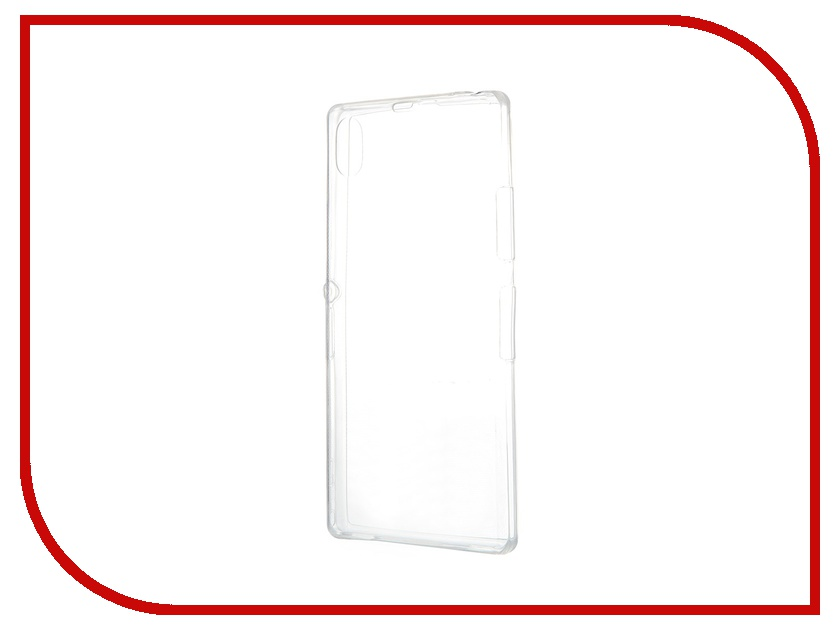 Аксессуар Чехол-накладка Sony Xperia Z1 BROSCO Transparent Z1-BACK-07-TRANSPARENT<br>