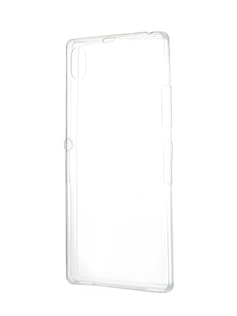 ��������� �����-�������� Sony Xperia Z1 BROSCO Transparent Z1-BACK-07-TRANSPARENT