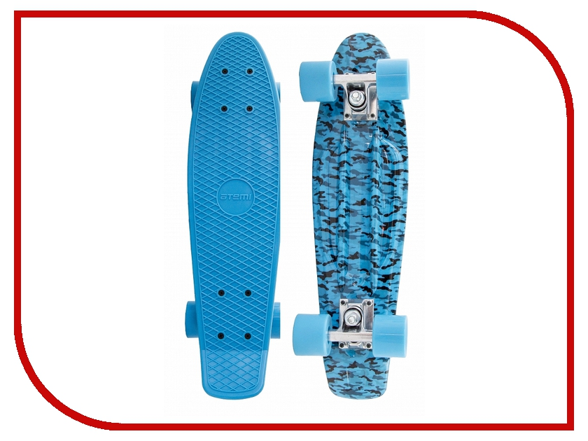 Пенниборд Atemi Penny Board APB-7.15 Black-Blue<br>