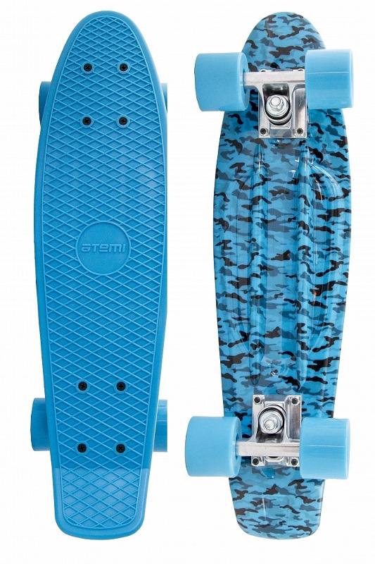 Скейт Atemi Penny Board APB-7.15 Black-Blue