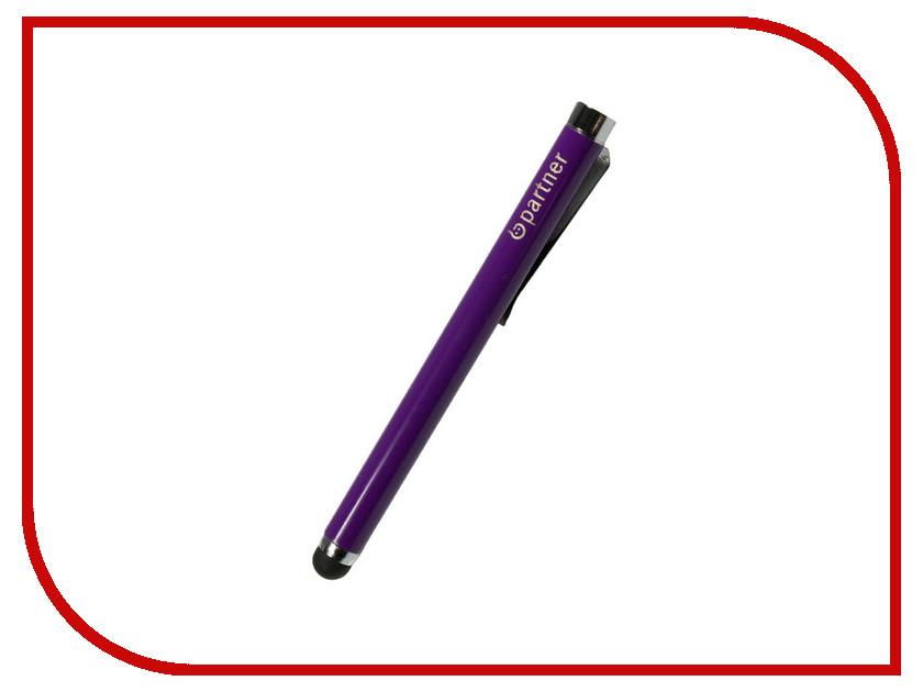 Стилус Partner универсальный 5 емкостной Purple ПР029746<br>