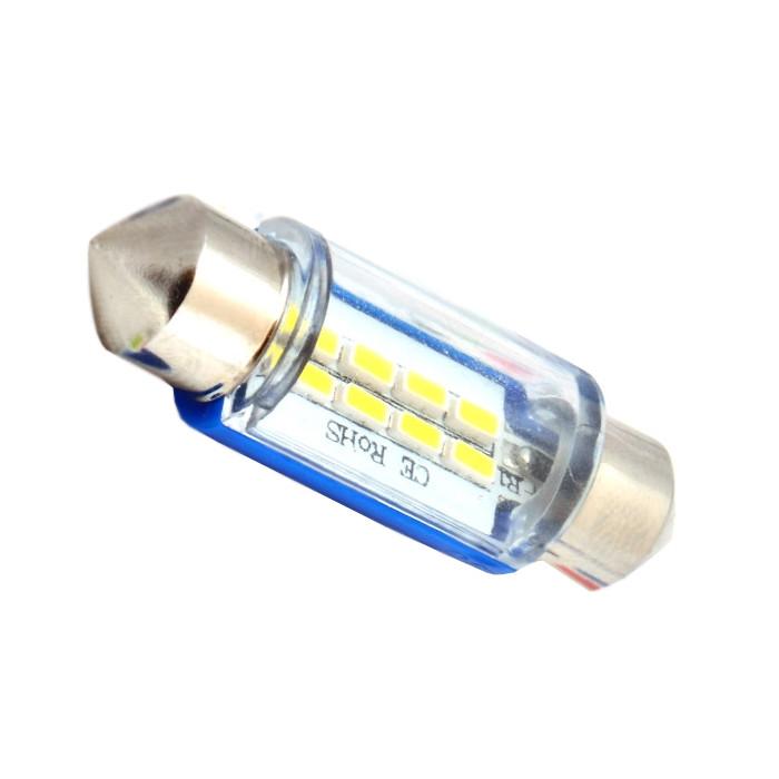 Лампа DLED C5W FEST 36mm SV8,5 8 SMD 3014 3786<br>